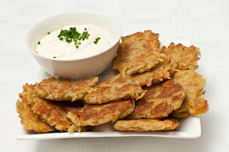 Patata dolce Frittas fotografia stock libera da diritti