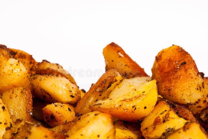 Patatas cocidas o asadas imágenes de archivo libres de regalías