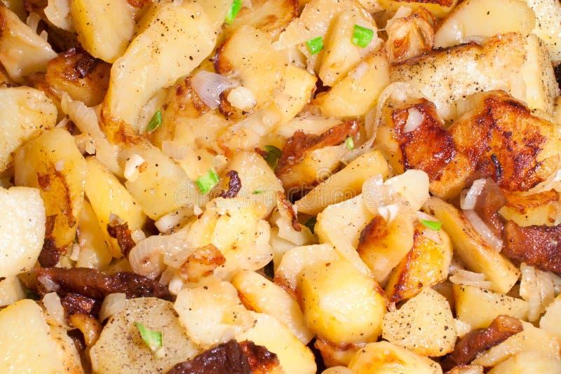 Patatas de Rasted fotografía de archivo