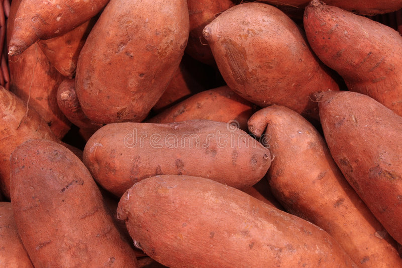 Patatas dulces imagen de archivo libre de regalías