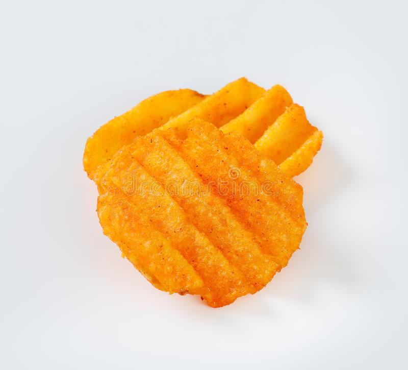 Patatas fritas fritas imágenes de archivo libres de regalías