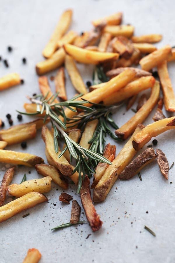 Patatas fritas foto de archivo libre de regalías