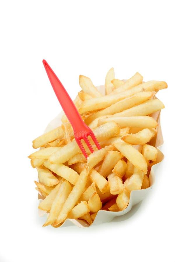 Patatas fritas crujientes fotografía de archivo libre de regalías