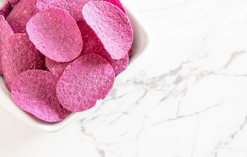 Patatas fritas dulces imagen de archivo libre de regalías