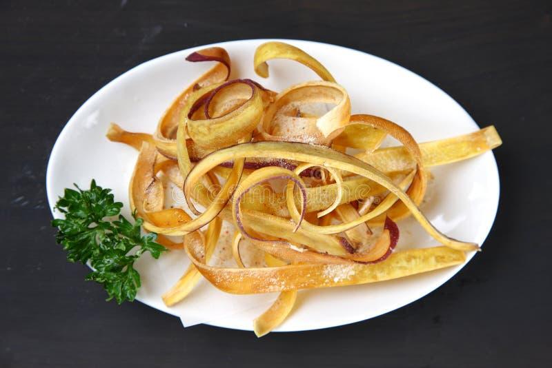 Patatas fritas dulces fotografía de archivo