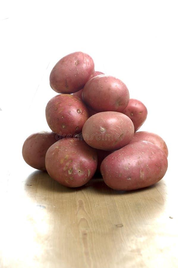 Patatas rojas fotos de archivo