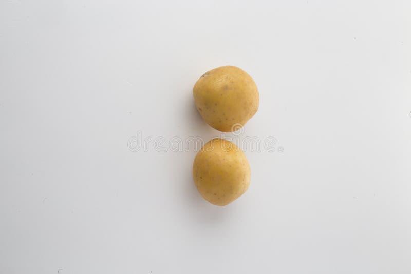 2 patate fotografie stock