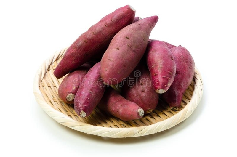 Patate douce japonaise images stock