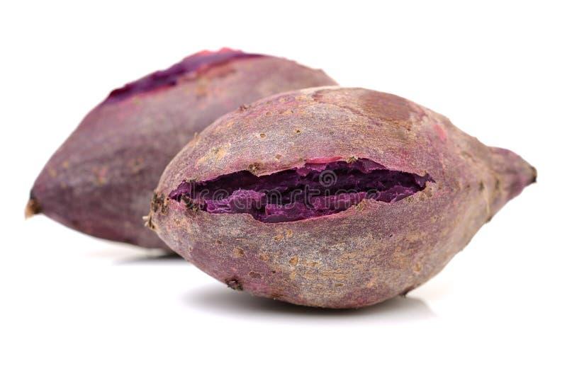 Patate douce pourpre rôtie photographie stock
