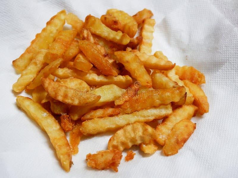 Patate fritte immagine stock