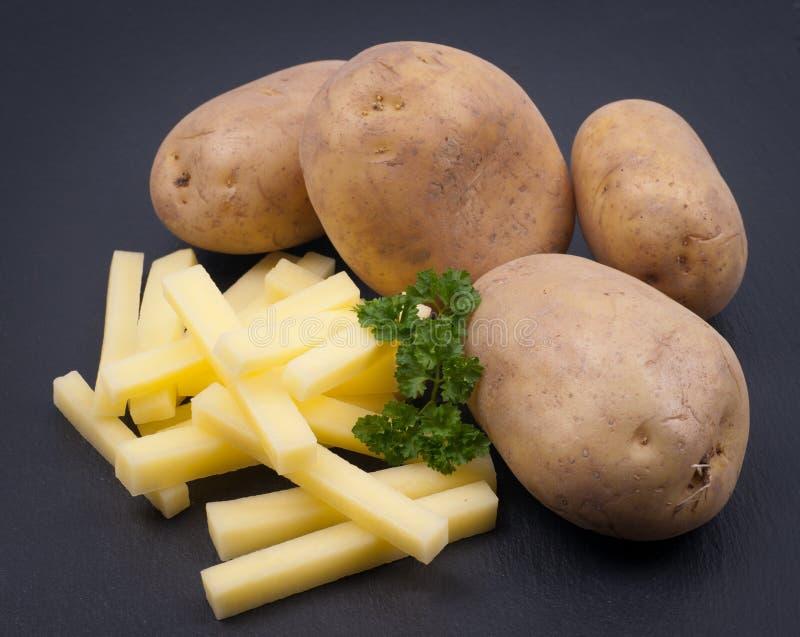 Patate fritte fresche immagine stock