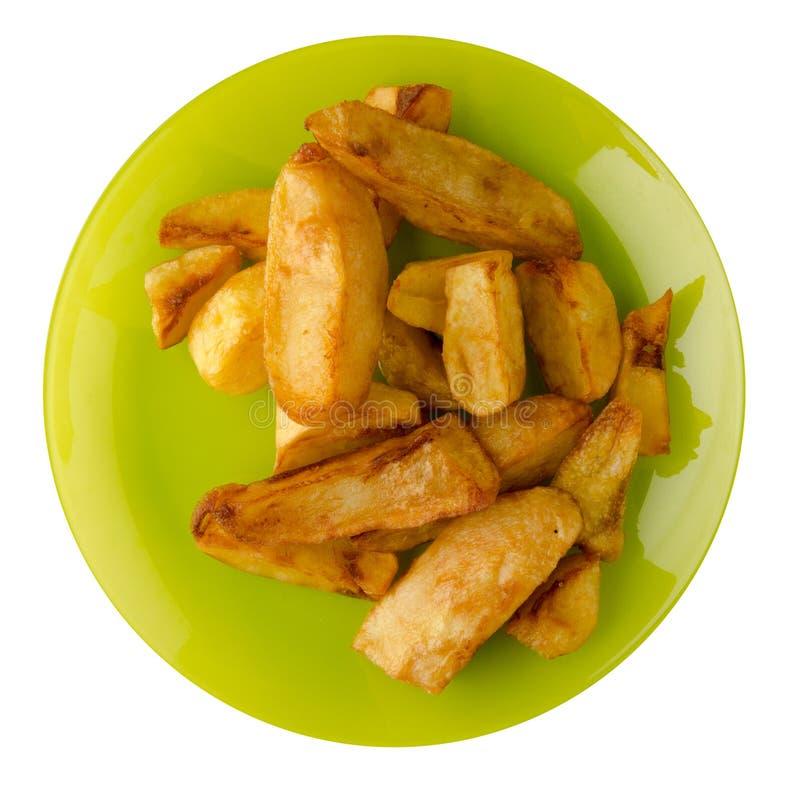 Download Patate fritte su una zolla immagine stock. Immagine di veloce - 117981843