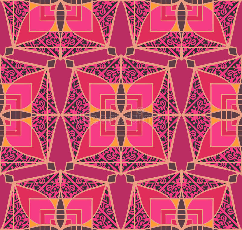 patchwork ilustração royalty free