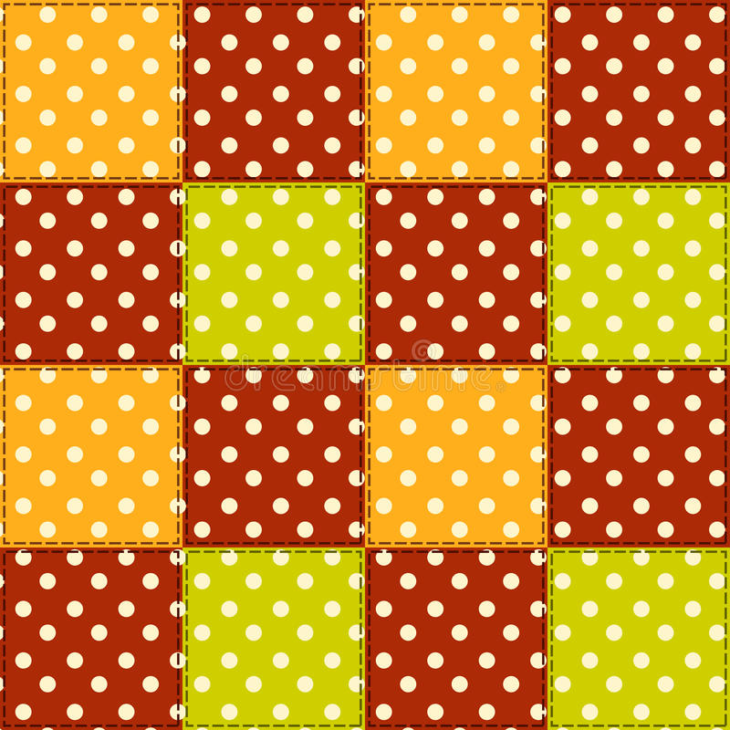 Download Patchwork Autumn Pattern 5. Stock Vector - Image: 34649588