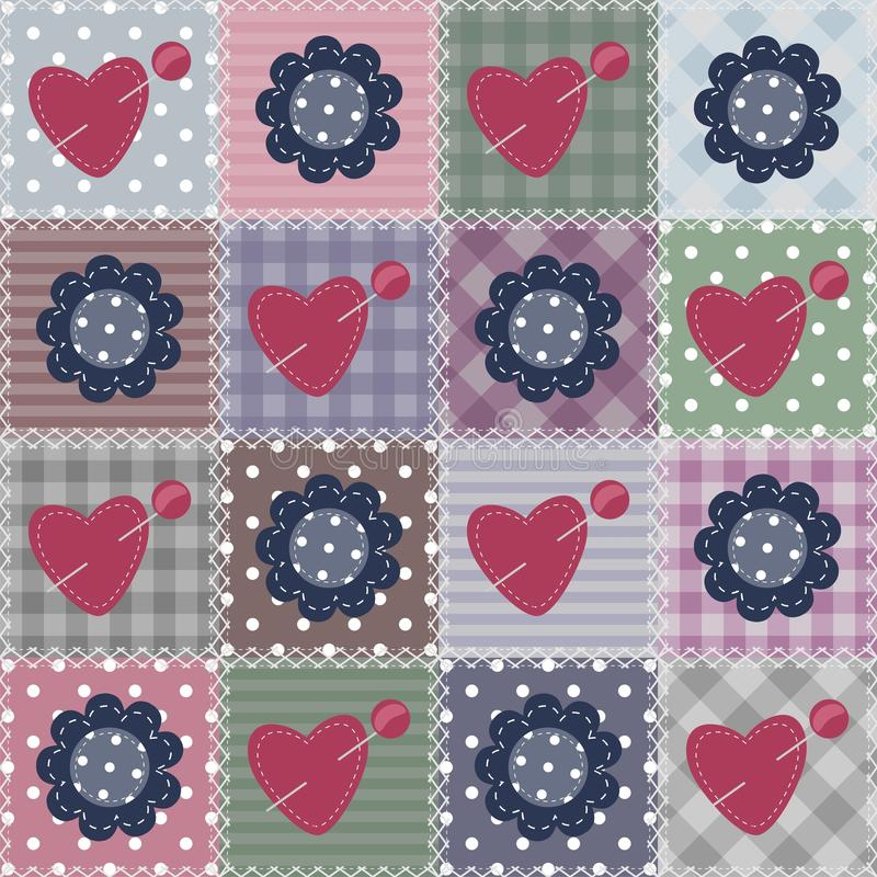 Download Patchwork Background With Different Patterns Royalty Free Stock Photos - Image: 24134828