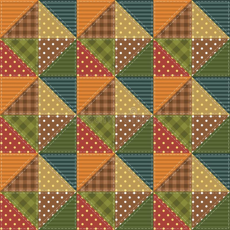 Download Patchwork Background With Different Patterns Stock Illustration - Illustration: 26990395