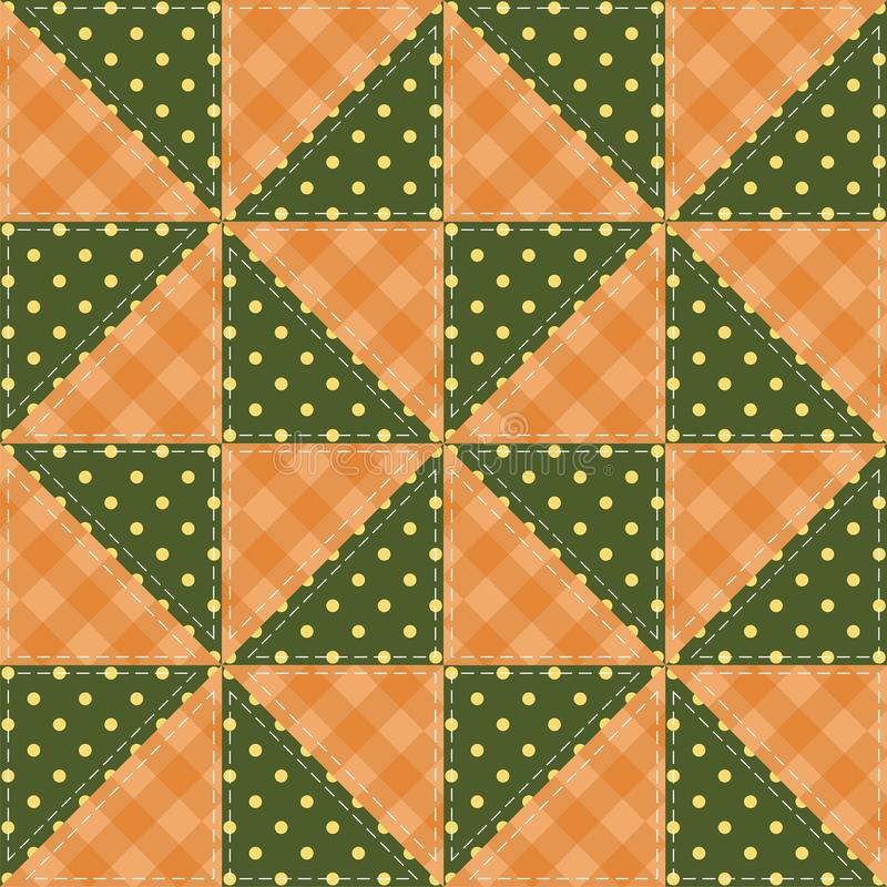 Download Patchwork Background With Different Patterns Stock Illustration - Image: 26990414