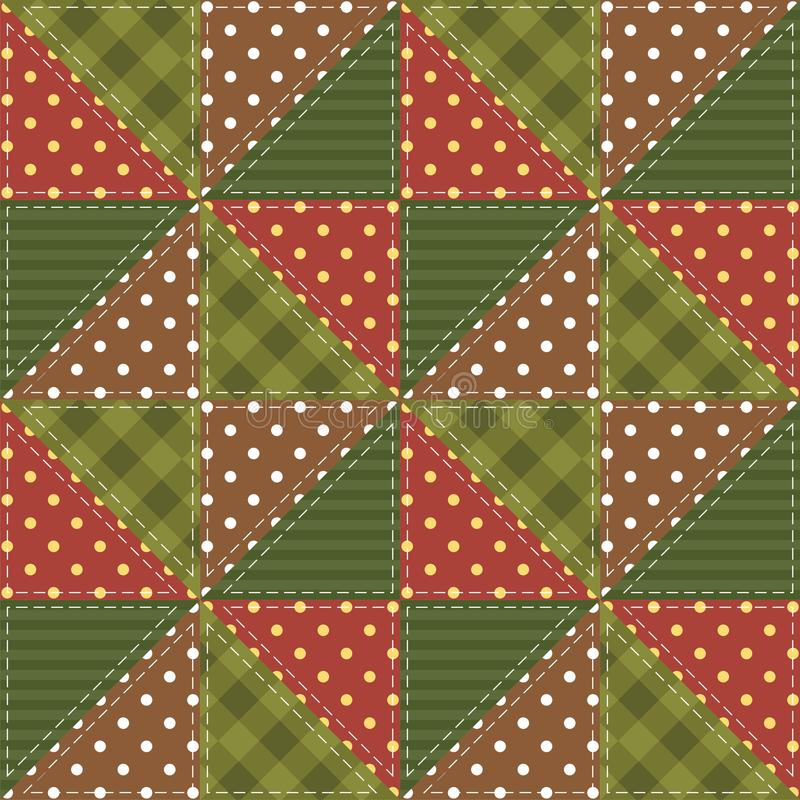Download Patchwork Background With Different Patterns Stock Illustration - Image: 26990464
