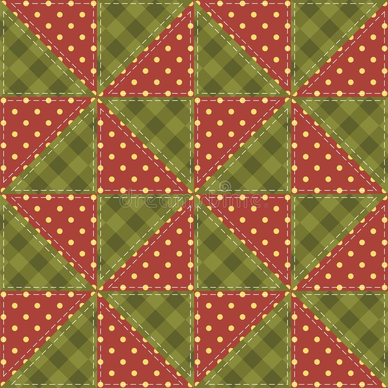 Download Patchwork Background With Different Patterns Stock Illustration - Image: 26990479
