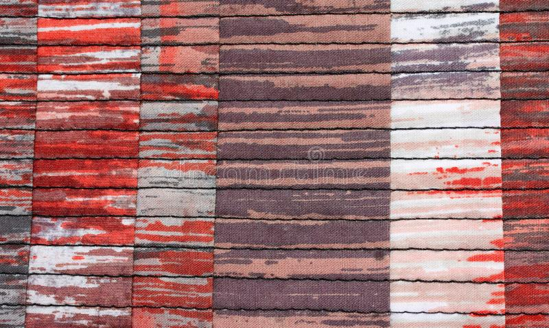 Patchwork background with unlikely colors and abstract effect stock photos