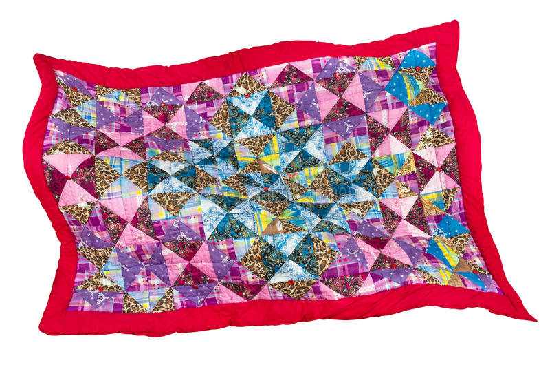 patchwork kołderka