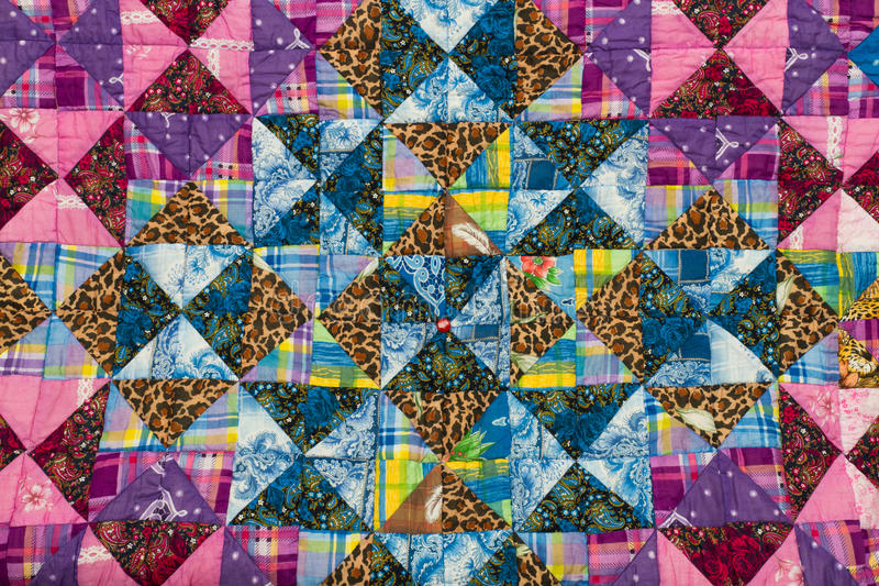 Patchwork pattern stock images
