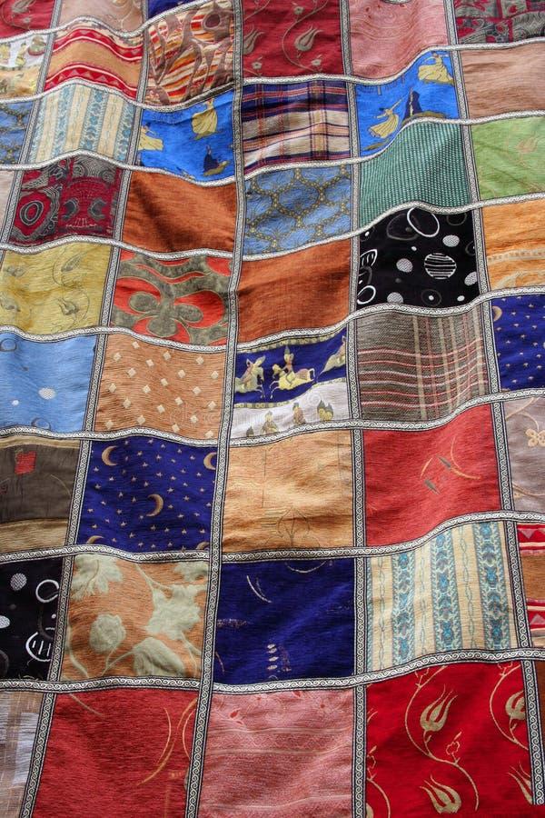 Download Patchwork quilt blanket stock photo. Image of elderly - 6801288