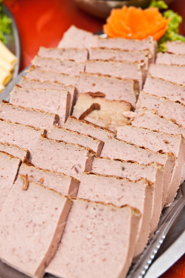 Download Pate on buffet table stock image. Image of dinner, patty - 33277043