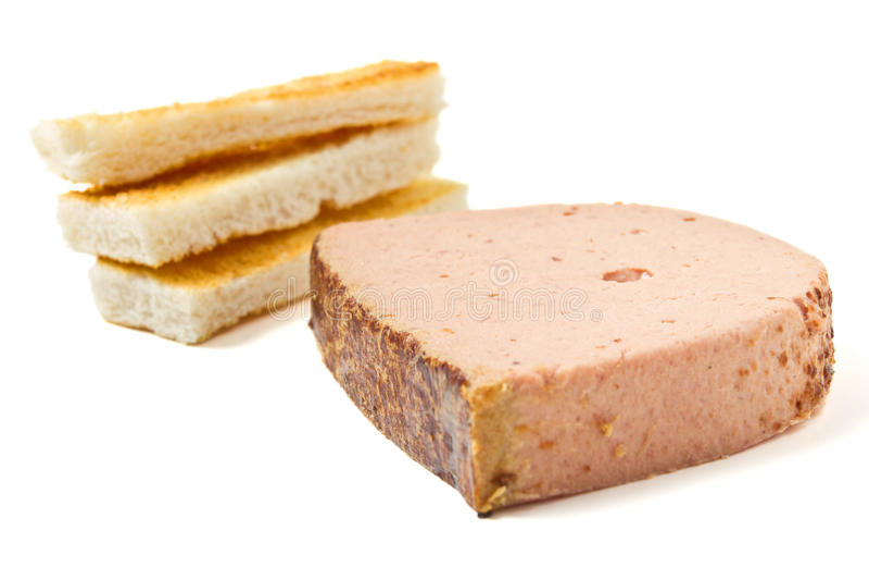 Download Pate n Toast stock image. Image of goose, food, foodstuff - 17835291