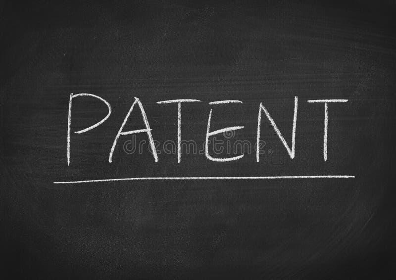 patente imagen de archivo libre de regalías
