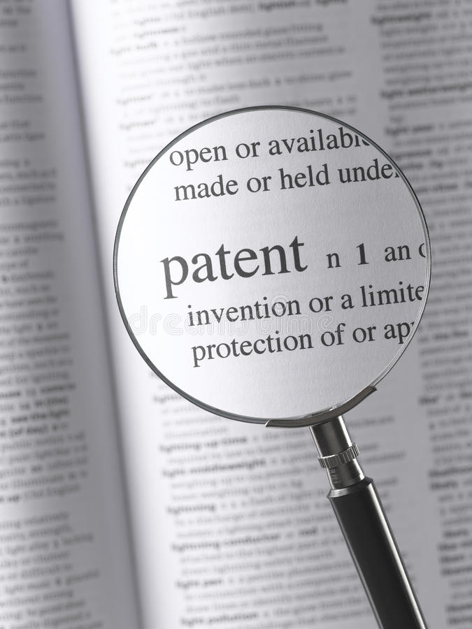patente imagen de archivo