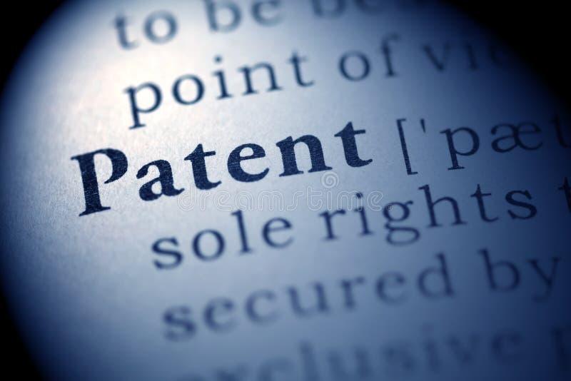patente fotos de archivo