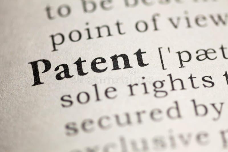 patente fotografía de archivo libre de regalías