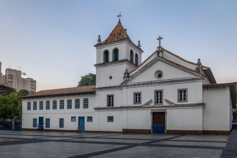 Pateo在街市圣保罗-圣保罗,巴西做Colegio 图库摄影