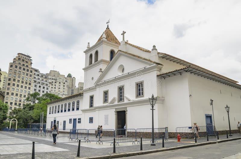 Pateo font Collegio, PS Br?sil de Sao Paulo image stock