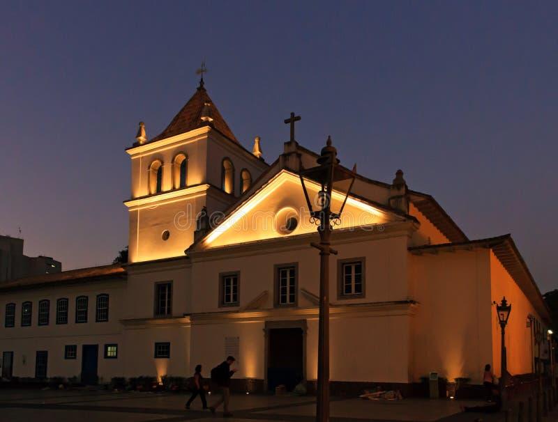 Pateo font le sao Jose Ancheita de Collegio - d'Igreja image libre de droits
