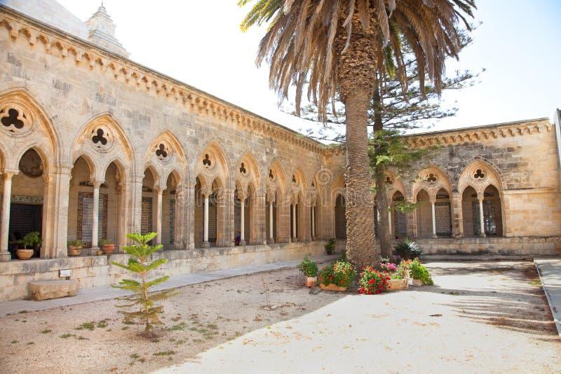 Pater de kerk van Noster in Jeruzalem royalty-vrije stock foto's