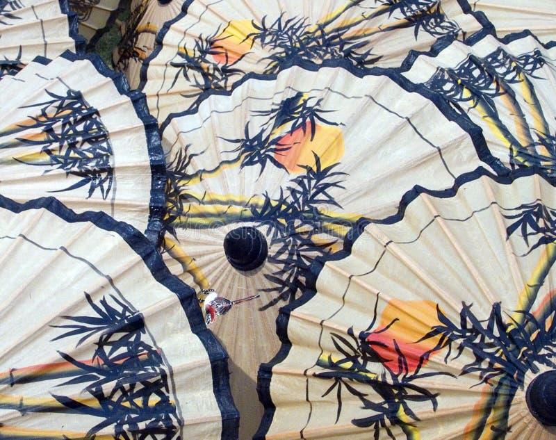 patern зонтики стоковая фотография rf