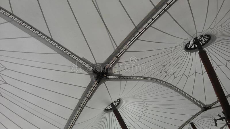 Patern. Effect by a circus tent royalty free stock photo