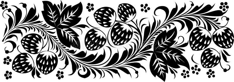 Patern floral ilustração stock