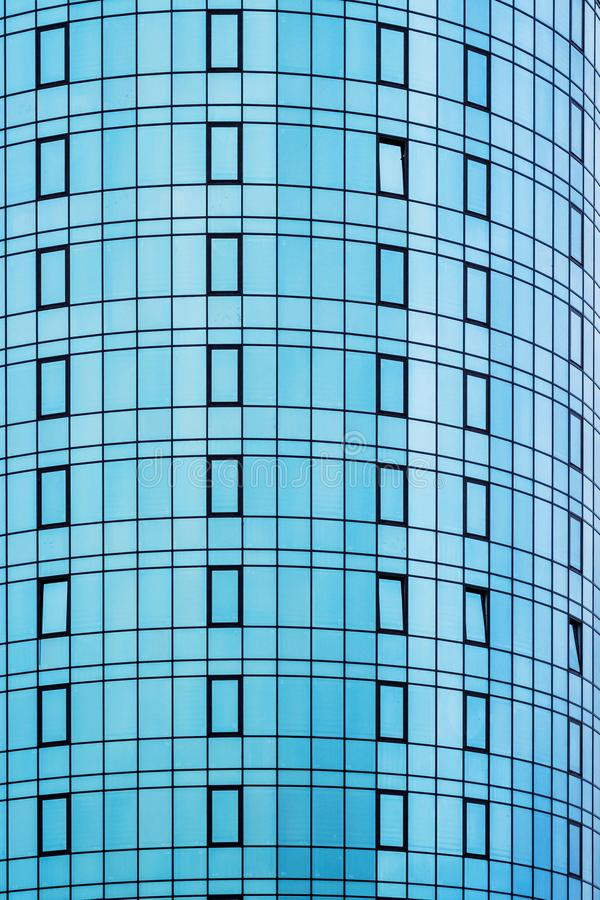 Patern from the glass windows of a modern house_ stock photography