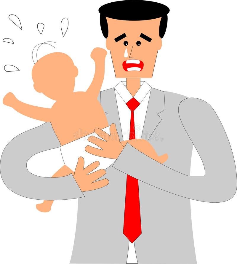 Paternidade ilustração stock