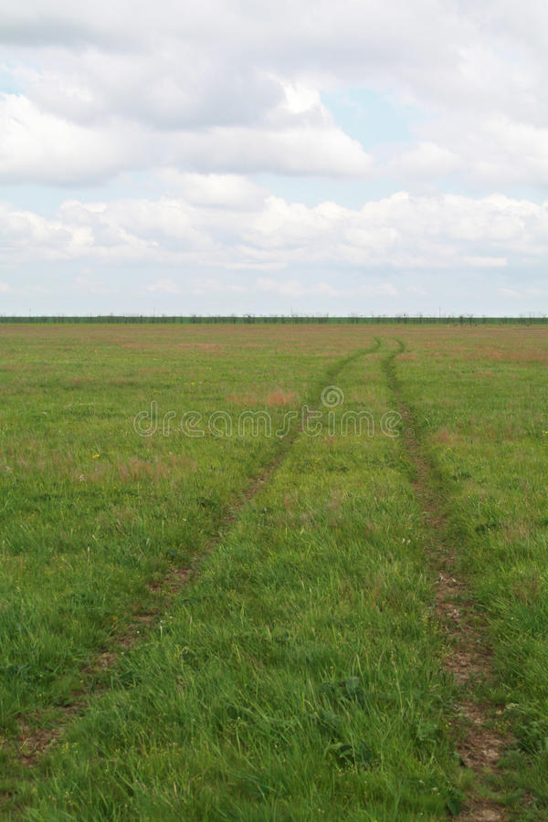 Path In A Field Stock Images