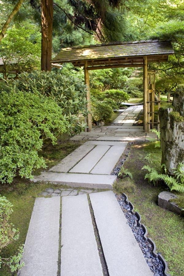 Download Path in Japanese garden stock photo. Image of garden - 31928096