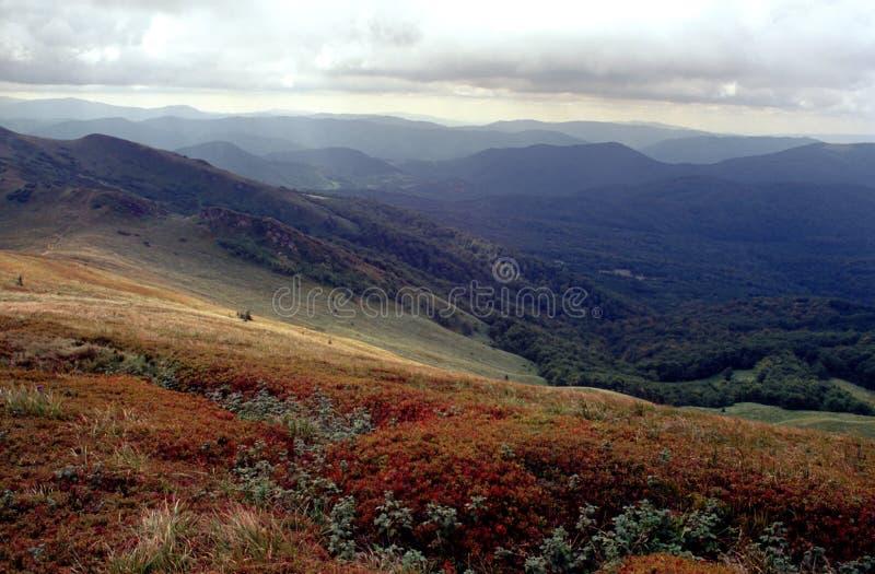 Path on the mountain royalty free stock photo