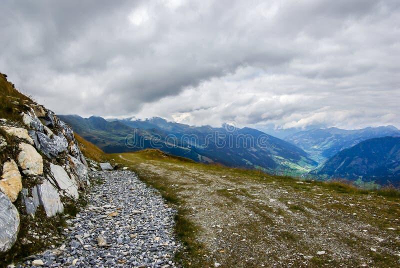 Path in mountain stock photos