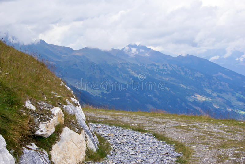 Path in mountain royalty free stock image