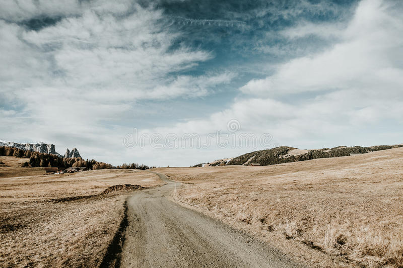Download Path in the mountains stock image. Image of trail, field - 83714991