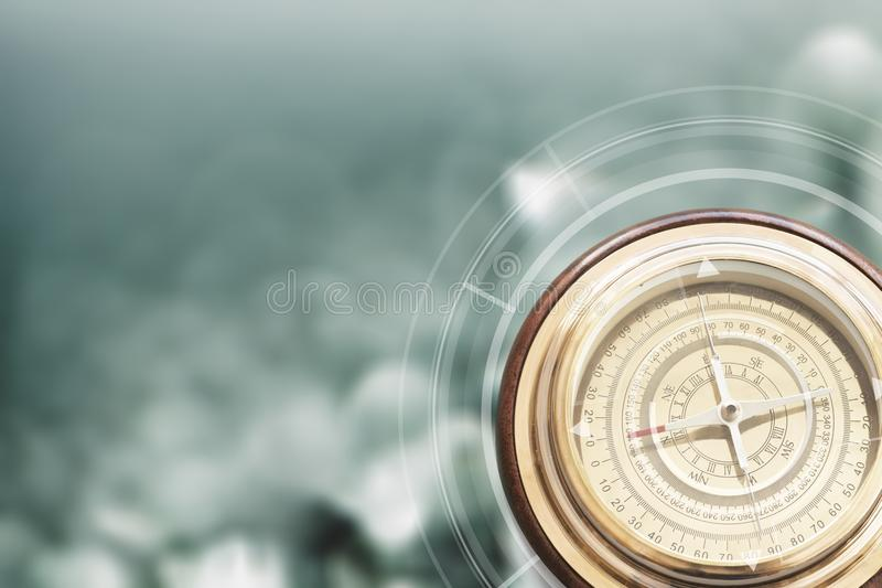 Path. Travel find compass achievement alternatives ambition royalty free stock images