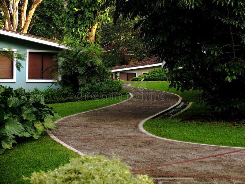 Download Path On A Resort Royalty Free Stock Photos - Image: 192898